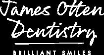 james otten dentistry logo white 2